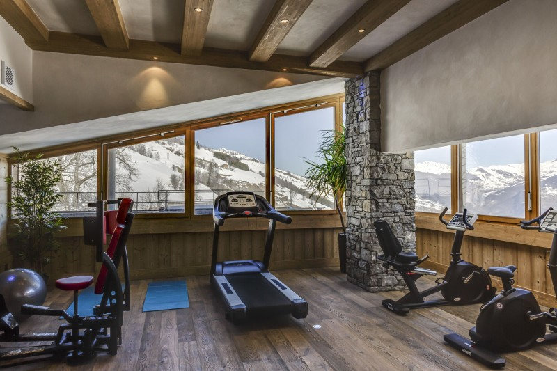 Valmorel Location Appartement Luxe Fervanite Duplex Salle De Fitness